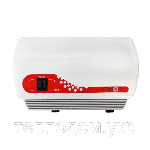 Проточный водонагреватель 7 кВт ATMOR IN-LINE DUO (АТМОР In line 220В, 7kW)