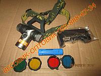 Аккумуляторный налобный фонарик BL-6836 диод CREE-Т6