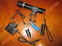 Велосипедный фонарик с линзой Bailong BL-1707 Cree-Q5