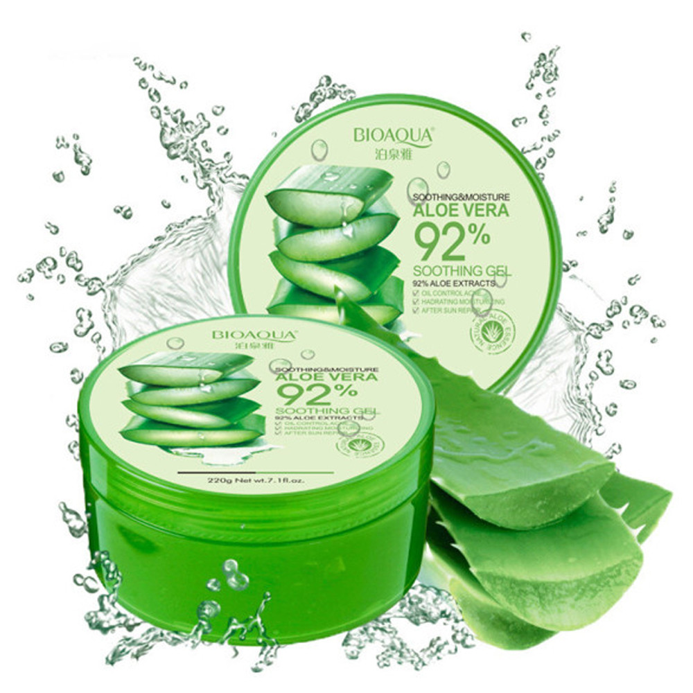 Гель увлажняющий для лица и тела Bioaqua Aloe Vera 92% Soothing Gel