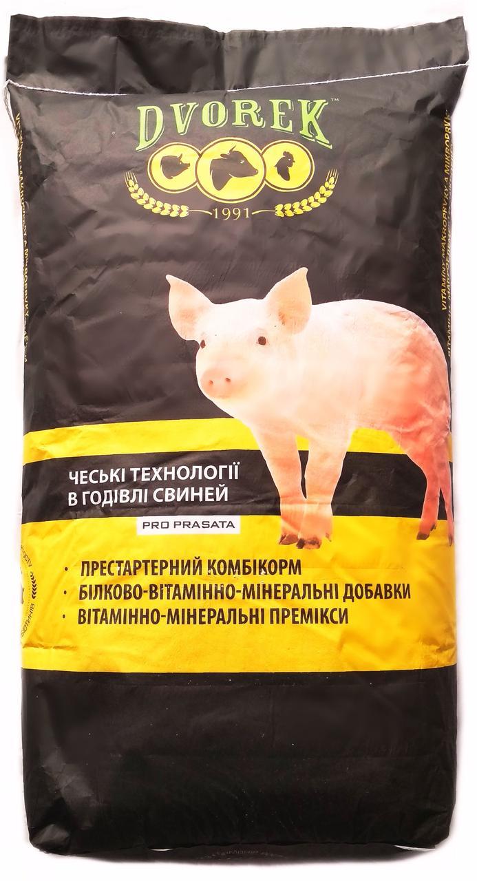 Dvorek БВД для свиней Откорм 15/10% (30-110кг)