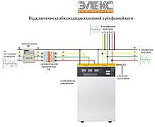 Стабилизатор напряжения трёхфазный бытовой Элекс Ампер У 12-3-25 v2.0 (16,5 кВт), фото 3
