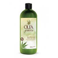 Шампунь на основі олій конопель і ожини Dott. Solari Olea Green Dolce Hemp Shampoo 1000 ml