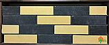 Кирпич облицовочный ECOBRICK гладкий 250x120x65 мм черный, фото 3