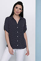 Блуза женская в горошек, фото 1