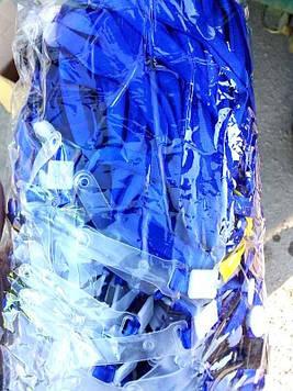 Лента для бейджа №98 синяя (100шт)