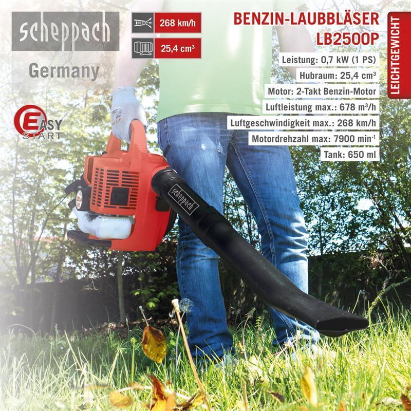 Бензиновый собиратель листяTec Scheppach LB 2500 P