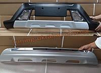 Передняя и задняя накладки на Hyundai Creta 2014+