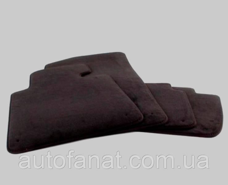 Комплект черных велюровых ковриков салона для BMW X6 (F16) (51477439873)