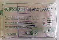 Мочеприемник прикроватный с Т - образным краном, стерильный 2000 мл,  ULTRAMED, Египет