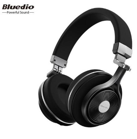 Навушники безпровідні Bluedio T3 з мікрофоном (чорні)
