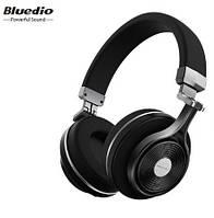 Наушники беспроводные Bluedio T3 с микрофоном (черные)