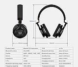 Навушники безпровідні Bluedio T3 з мікрофоном (чорні), фото 5