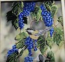 """Набор для вышивания бисером """"Синие брызги"""" бисер (21010), фото 4"""