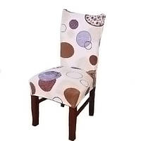 Чохол на стілець натяжна Stenson R26295 45х40 65х50 см