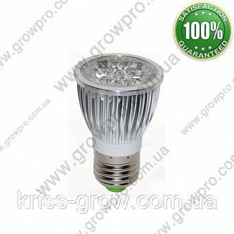 Фитолампа для рослин 15W (5х3W) E27 Electronix