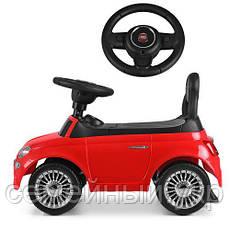 Детская машинка-каталка Bambi Fiat HZ620 , фото 2