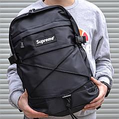 Рюкзак в стиле Supreme черный