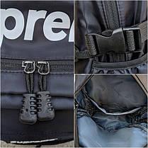 Рюкзак в стиле Supreme черный, фото 3