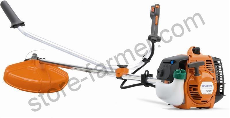 ЦПГ, коленвал, маховик, глушитель, картер, муфта для Husqvarna 125 R, 128 R (Ø 35 мм)