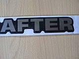 Наклейка s орнамент задний Crafter 277х41х1.4мм силиконовая надпись на авто Volkswagen Крафтер Волксваген , фото 4