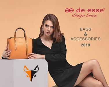 Новый весенний каталог De Esse 2019 (Женская кожгалантерея)