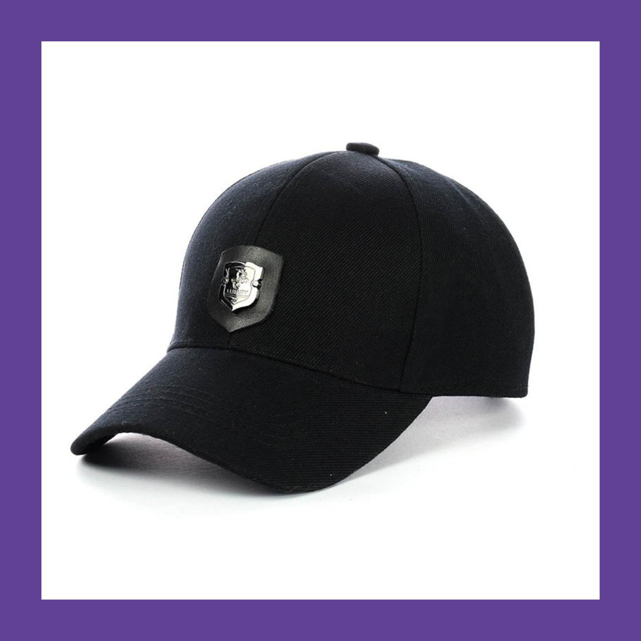 Кепка- Бейсболка черная luxury