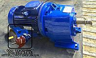 Мотор - редуктор 1МЦ2С80H-90 об/мин с электродвигателем  4 кВт  , фото 1
