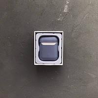 Силиконовый чехол Slim Lux для наушников Apple AirPods фиалка light purple