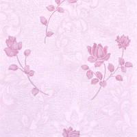 Обои Бумажные акриловые 0,53*10,05 Слобожанские розовые цветы