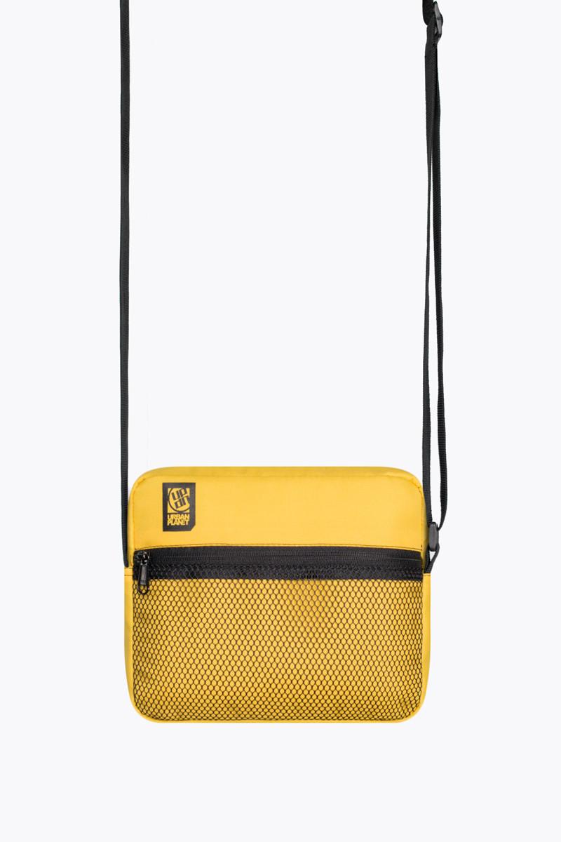 Мессенджер сумка через плечо M7 YEL Urban Planet желтый (сумка женская, сумка мужская, сумки)