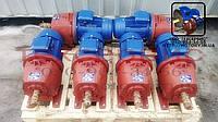 Мотор - редуктор 1МЦ2С80H-28 об/мин с электродвигателем  1.5 кВт