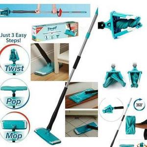 Универсальная швабра Titan Twist Mop вращается на 360 градусов с отжимом