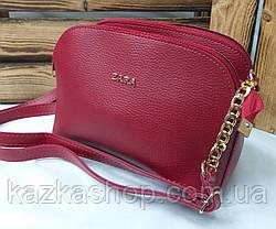 Женский клатч на три отдела, в стиле Zara (реплика) материал эко-кожа регулируемый ремень, фото 3