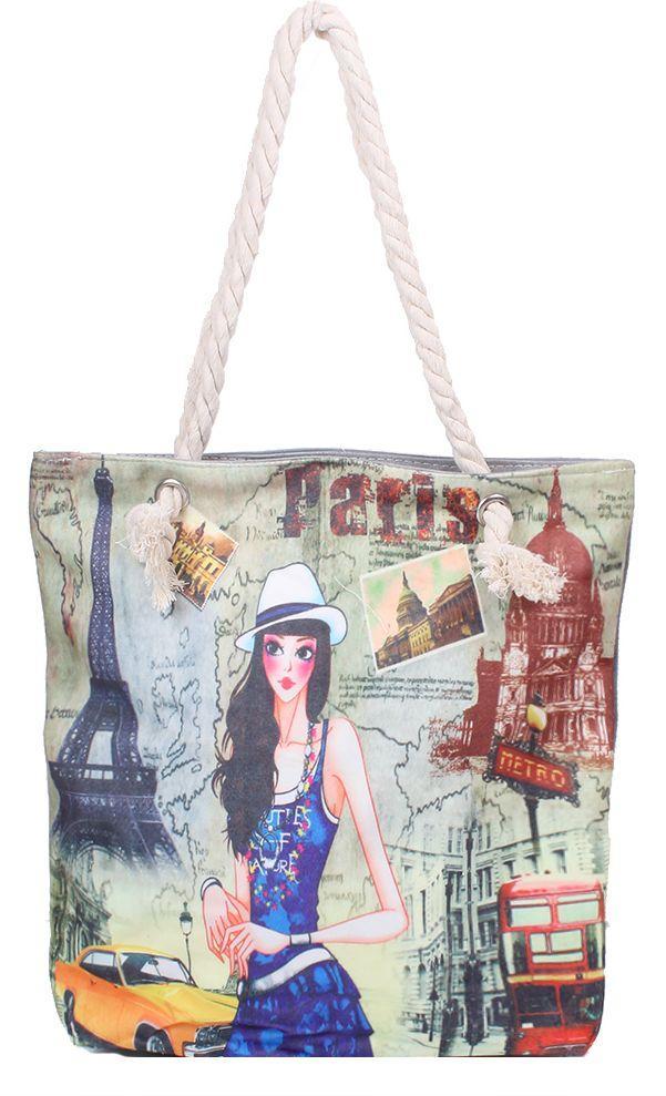 Тканевая женская сумка ETERNO DET1808-7