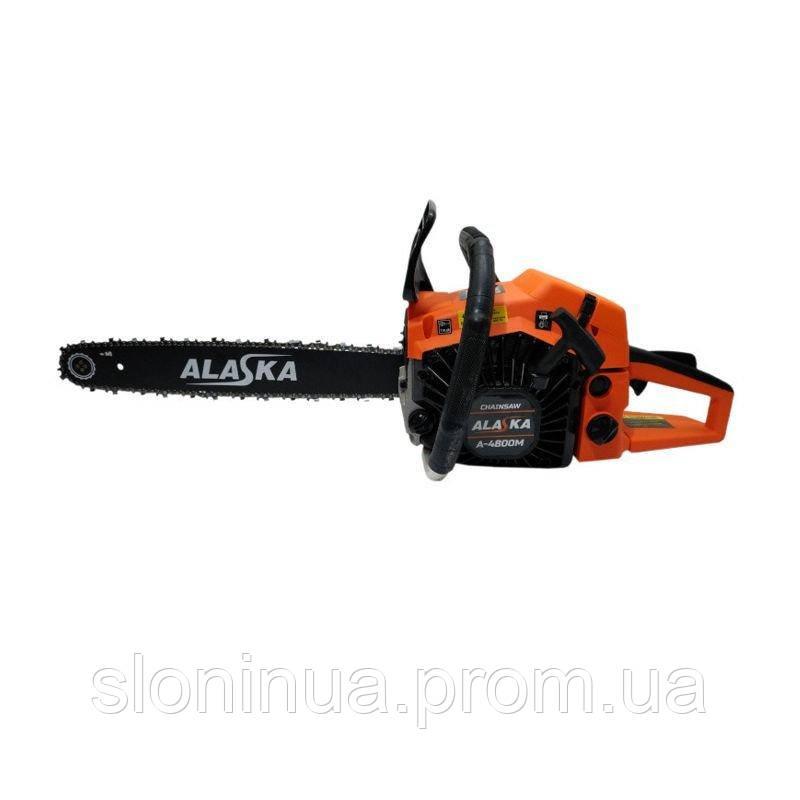 Пила цепная бензиновая ALASKA A-4800M 4,8 кВт