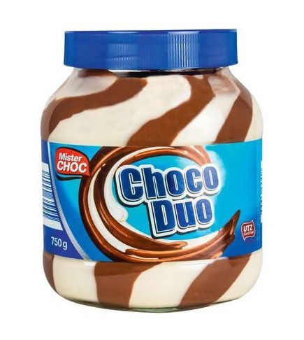 Шоколадна паста Choco Duo (Mister Choc) 750 г