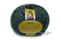 Lanoso Kulvar Серый изумруд меланж, №5502