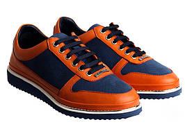 Кросівки Etor 6845-8044-734 блакитний+помаранчевий