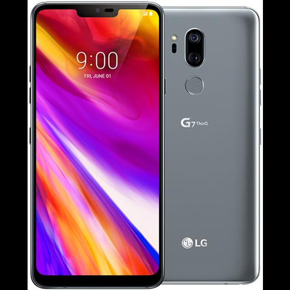 Смартфон LG G7+ ThinQ 6/128GB Platinum Gray