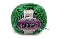 Lanoso Alpacana Fine, Зеленый №920