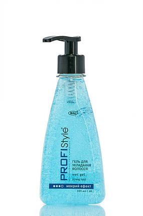 Гель Profistyle для укладки волос с мокрим ефектом  300 мл, фото 2