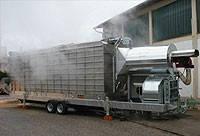 Мобильная зерносушилка STELA, модель MUF 110