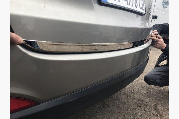 Кромка багажника (нерж.) Hyundai IX-35 2010-2015 гг.