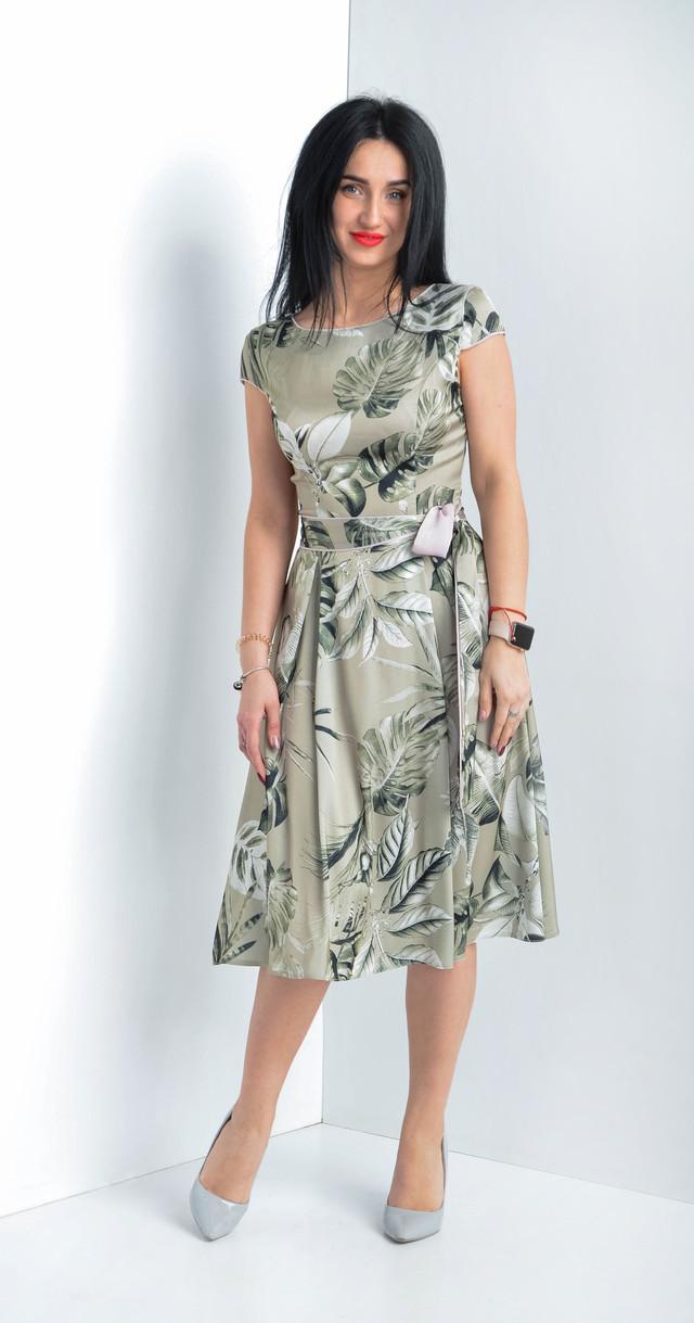 30a9b94cf3a3 Женское летнее платье. Размеры: 44, 46, 50, 52. - Bigl.ua