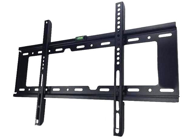 Настенный кронштейн для телевизоров от 32 до 70 диагонали Черный надежное крепление крепкая фиксация простой