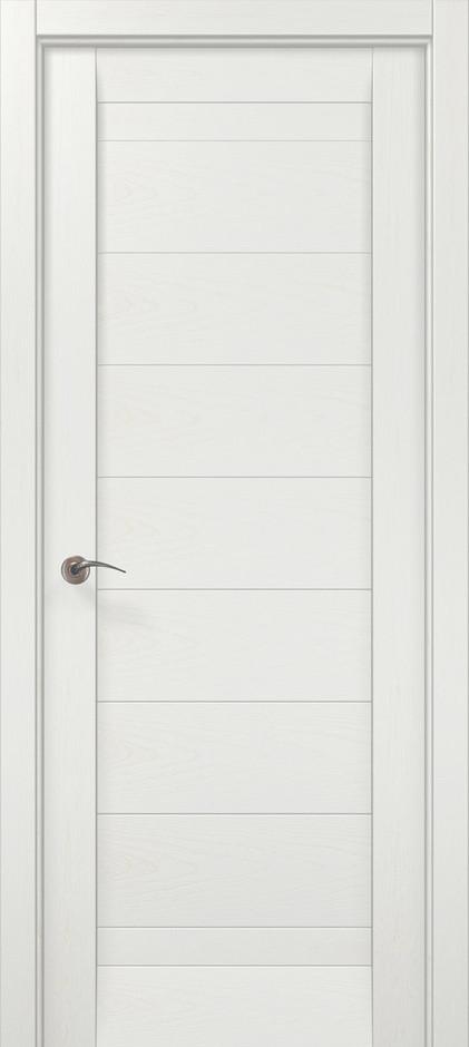 """Двери межкомнатные Папа Карло """"Millenium-04"""" ясень белый"""