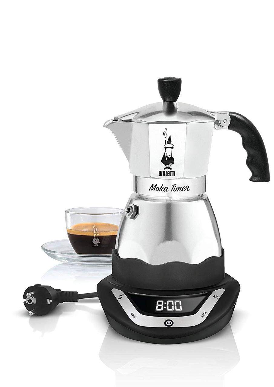 Электрическая гейзерная кофеварка Bialetti Easy Timer (3 cup - 170 мл)