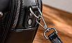 Сумка женская через плечо Femme с помпоном Серый, фото 4