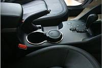 Кольца на подстаканник (нерж.) Hyundai IX-35 2010-2015 гг.